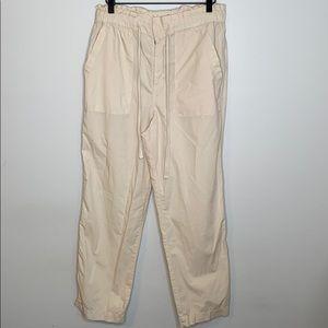 Lou & Grey 100% cotton poplin pants - small